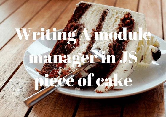 Building your own module manager in javascript